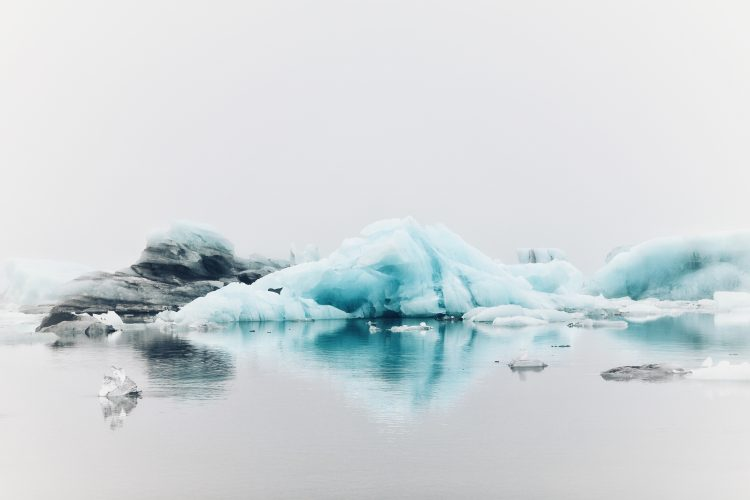 Iceberg presentando el perfeccionismo